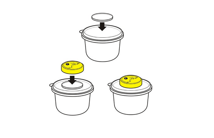Self-Adhesive Adapters for Talking Tins