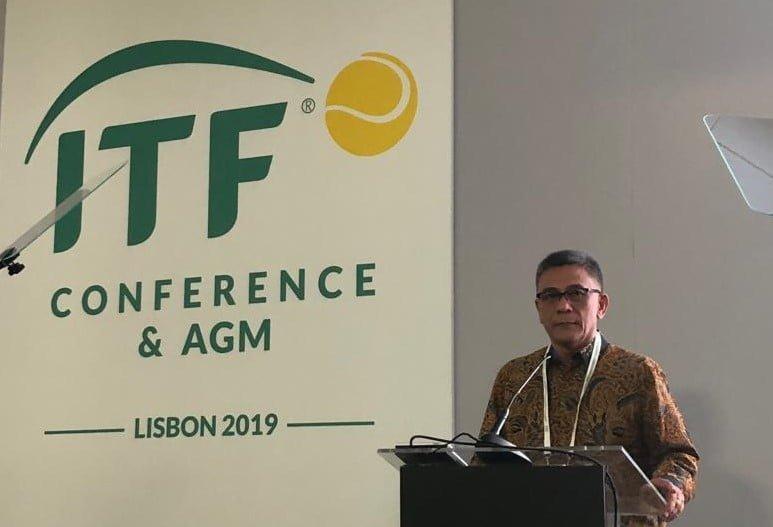 Rildo Ananda Hadiri ITF Conference di Lisbon Portugal