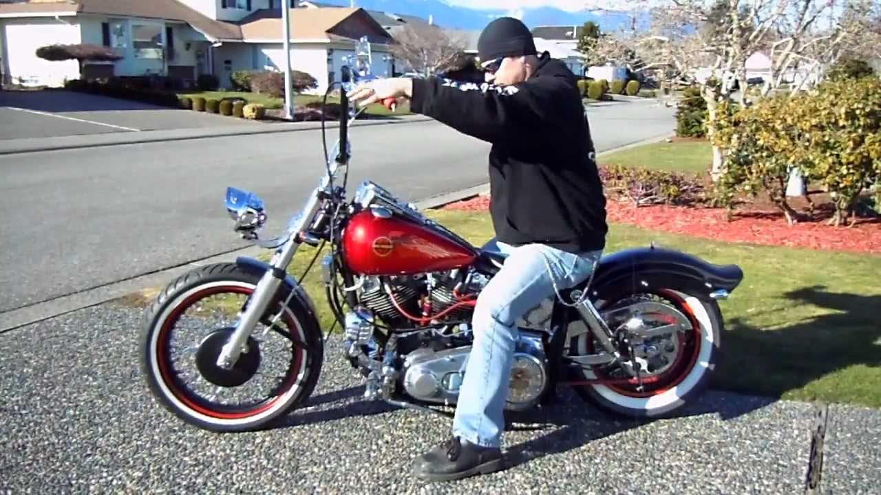 Harley-Davidson Shovelhead Paling Diburu Sang Legends
