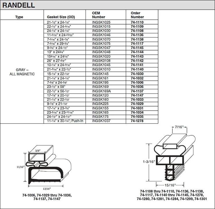 Refrigeration: Randell Refrigeration Website