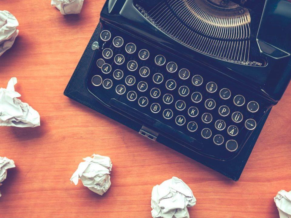 7 erros que todo escritor(a) comete
