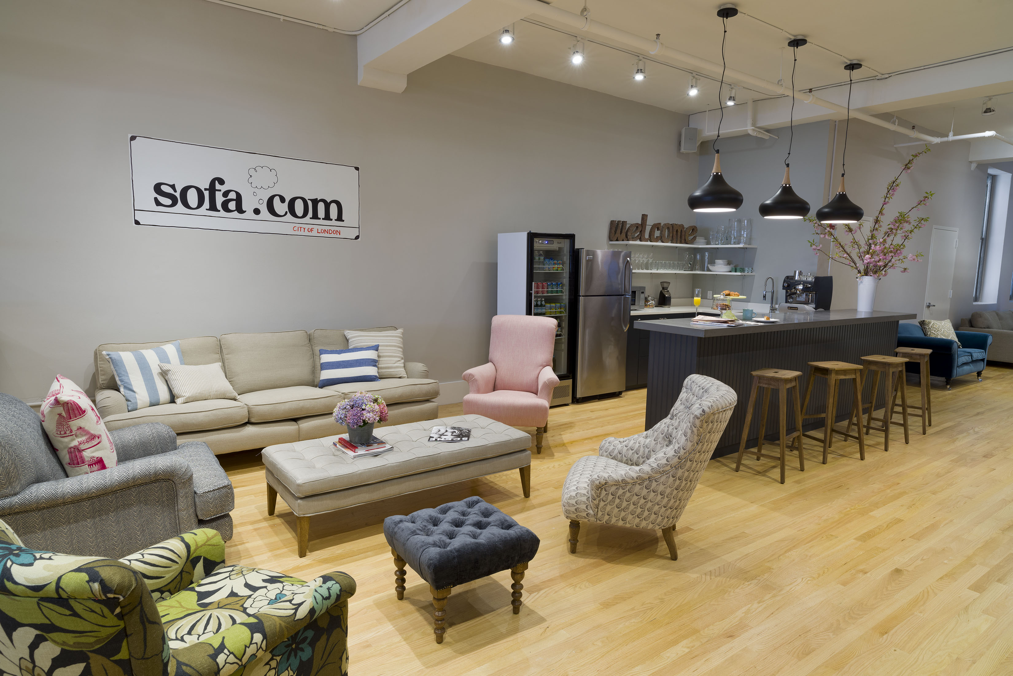 sectional sofas nyc showroom sofa designs catalogue takes innovative approach to furniture retail