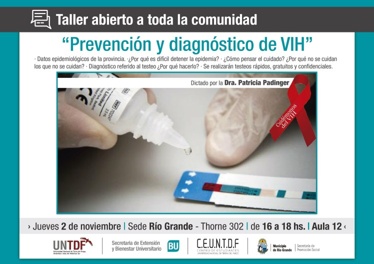 TALLER DE PREVENSIÓN Y DIAGNÓSTICO DE VIH