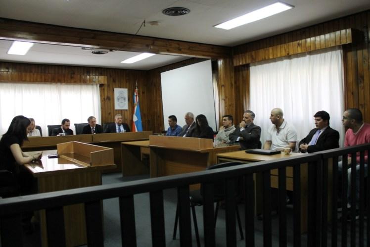 Lectura de veredicto en juicio por robo agravado