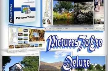 Portable PicturesToExe Deluxe  Multilanguage