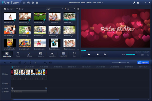 Wondershare Video Editor tutorial