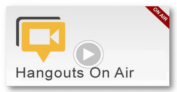 Hangout-on-air