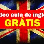 vídeo aula de inglês