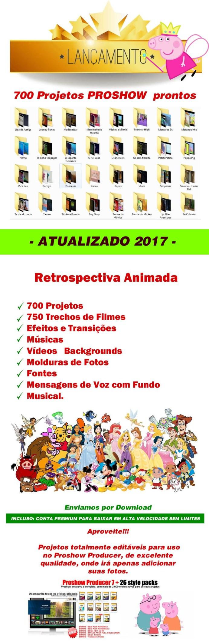projetos proshow 2017
