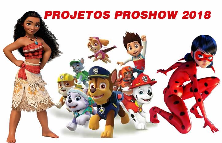 projetos proshow 2018