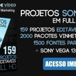 Template editavel sony vegas
