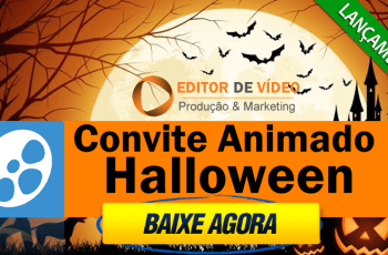 Convite Animado Halloween