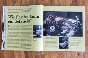 Wie flexibel kann ein Sofa sein? Designer über den Entwurf eines flexiblen Sofas.