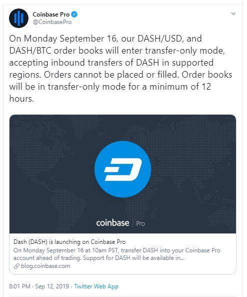 Coinbase Dash