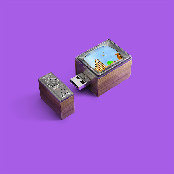Cool Usb Sticks That Look Like Vintage Gaming Consoles