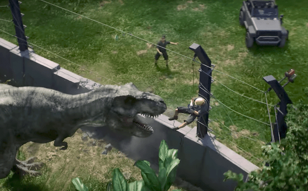 Jurassic World Evolution Game Lets You Build A Theme