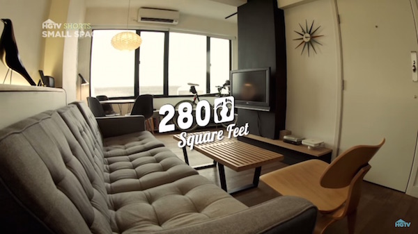 280SquareFoot Tiny Apartment With Roof Terrace Is Only