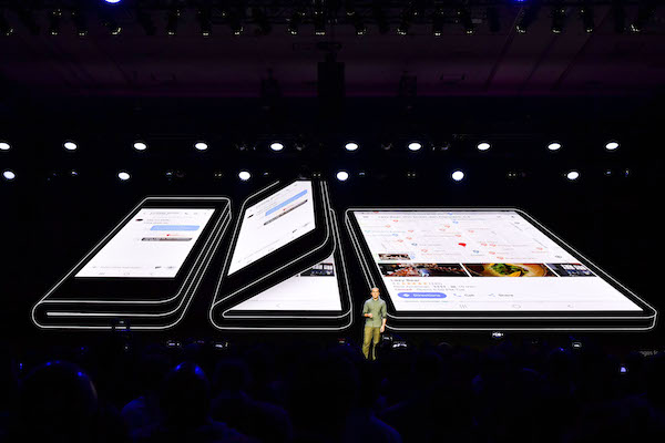 Samsung Shows Off Its FirstEver Foldable Phone With Infinity Flex Display  DesignTAXIcom