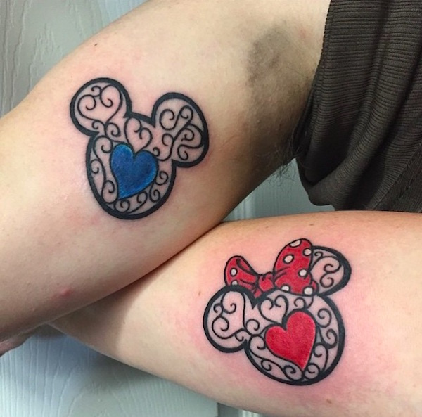His And Hers Disney Tattoos