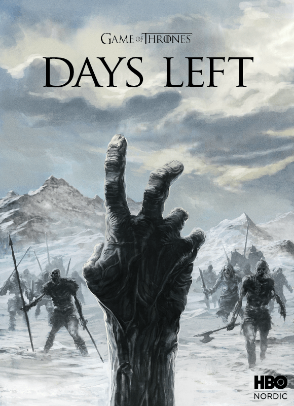 Brilliant 'Game Of Thrones' Posters Countdown To The Start
