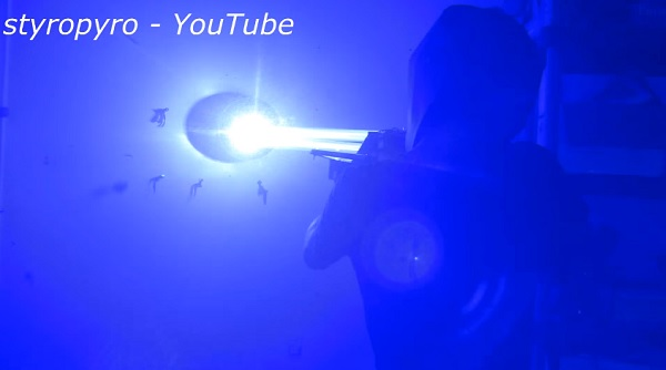 Man Builds A 200 Watt Laser Bazooka More Intense Than