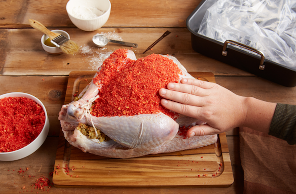 Spice Up Your Thanksgiving With This Flaming Hot Cheetos