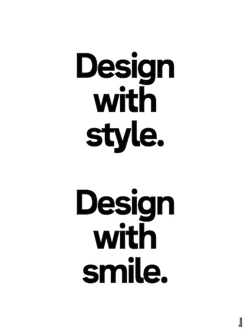 20 Posters of Bite-Sized Design Wisdom, Made In Exactly