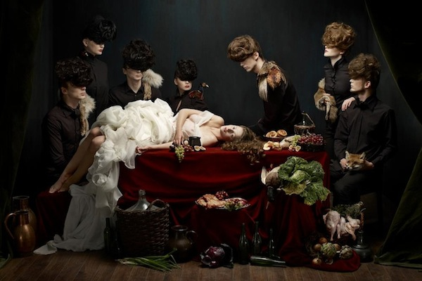 Wallpaper Art Falling Photo Series Inspired By Baroque Still Life Paintings