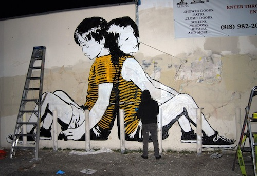 Graffiti By Bumblebee Highlights Youth Homelessness