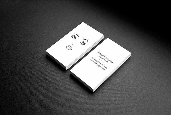 A Creative Business Card That Lets You Complete Its Design