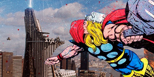 Fall Wallpaper Macbook Air If Marvel Superheroes Crossed Over To Real Life