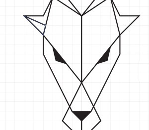 drawings line straight drawing easy triangles logos thrones draw illustrator copy inspired triangular designtaxi vertical clipartmag paintingvalley