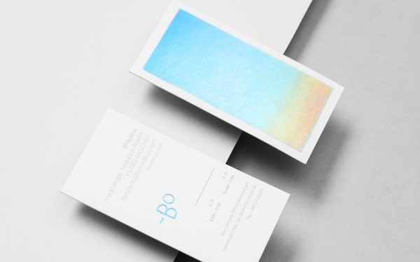 Holographic Business Card