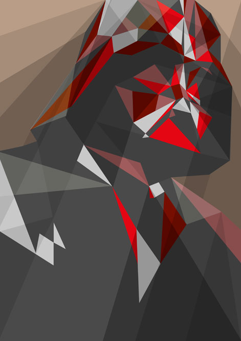 Pop Culture Icons Rendered in Geometric Art DesignTAXIcom