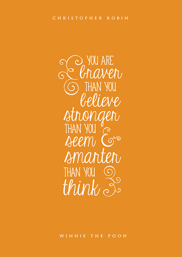 Quotes Hand Walt Disney Lettered