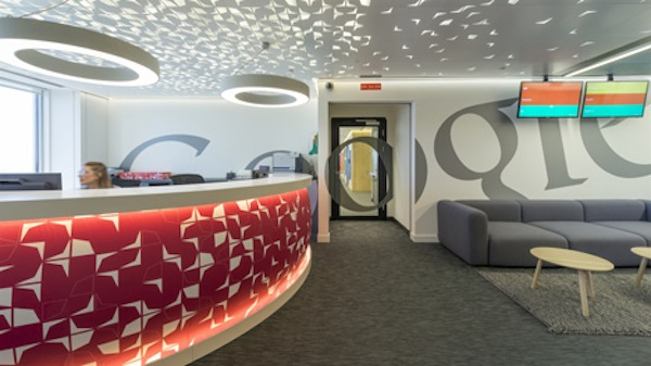 A Look Inside Googles New Brightly Colored Offices In