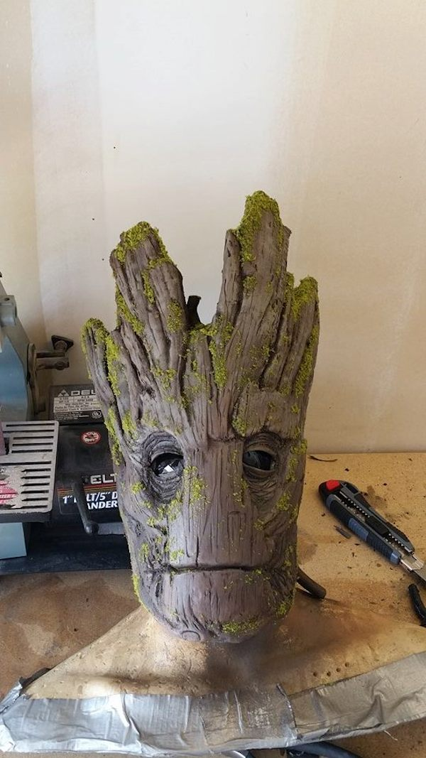 Incredibly Realistic Groot Costume That Costs Less Than