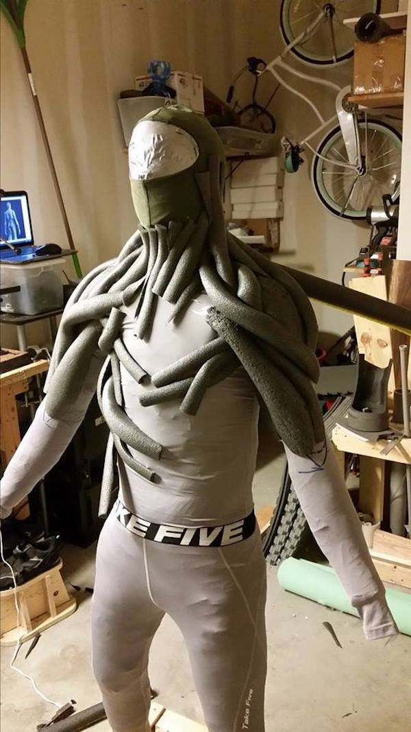 Incredibly Realistic Groot Costume That Costs Less Than 100 To Make  DesignTAXIcom