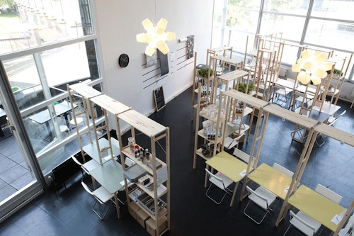 Pop Up Restaurant Furnished With IKEA Products Lets Diners Customize Tables