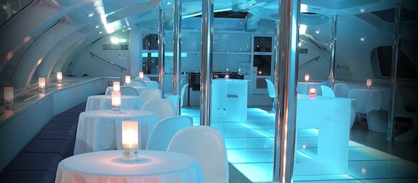 In Tokyo A Futuristic Floating Bar Lets You Party In