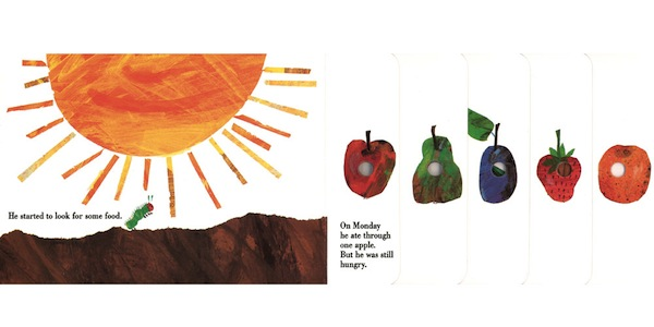 Hungry Cover Caterpillar Book