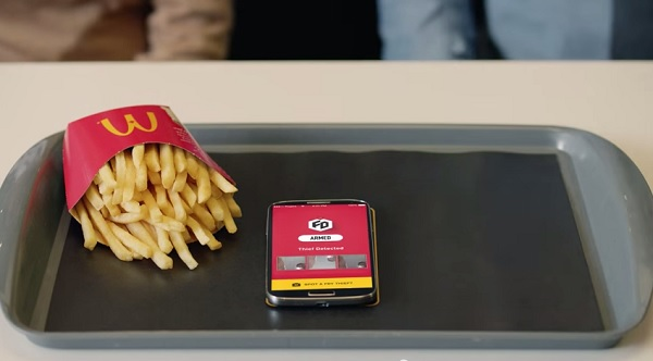 McDonald's Security App Will Protect Your French Fries From Thieving Hands - DesignTAXI.com