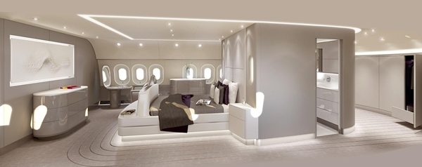 Ultra Luxurious InFlight Experience With Designer