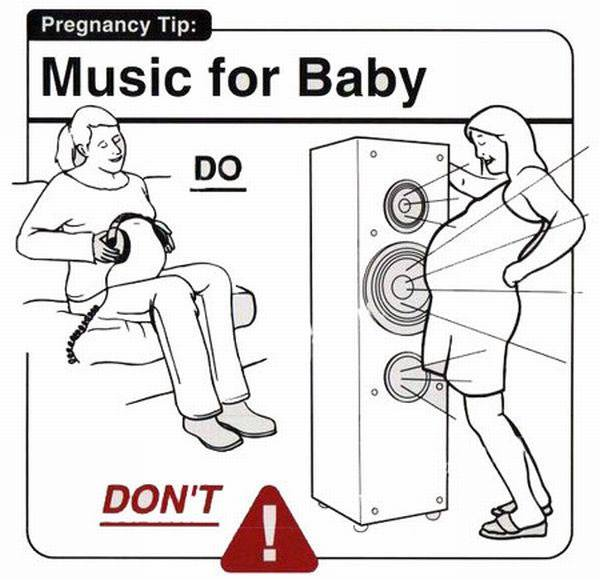 Funny Illustrations Of Pregnancy Do's And Don'ts