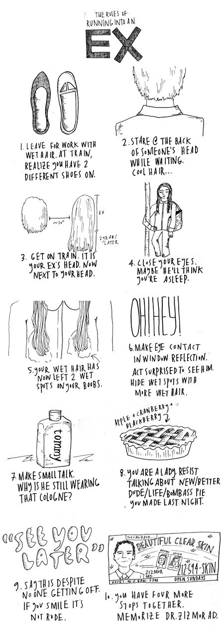 'The Rules', An Illustrated Guide To Modern Etiquette