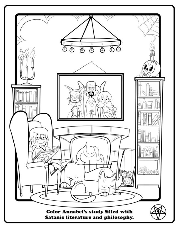 In Florida, A Satanic Activity Book For Children