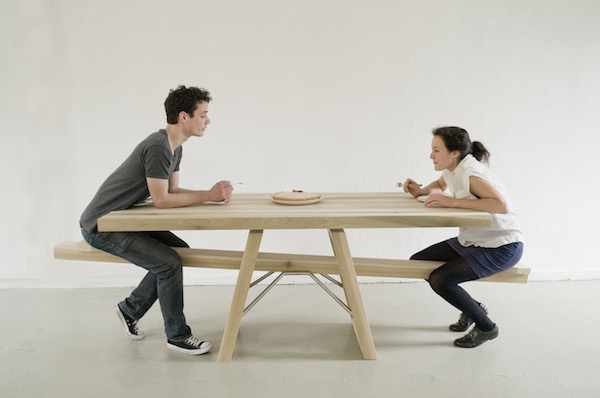 Playful SeeSaw Table Makes You Work With Your Dining