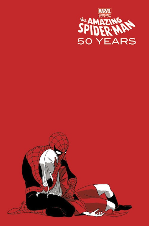 For SpiderMans 50th Anniversary Comic Book Artist Creates Covers For Issue  DesignTAXIcom