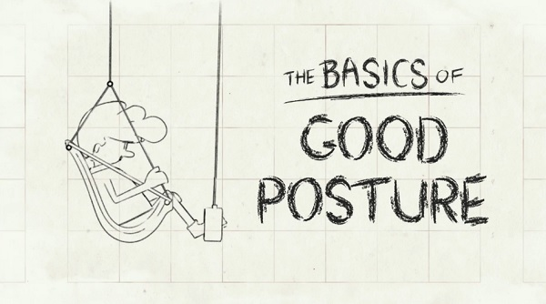 An Animated Guide To Good Seating Posture In The Office