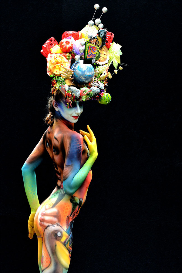 Stunning Body Art Unveiled At The 16th World Bodypainting